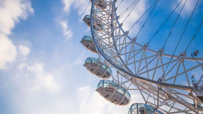 London Eye. Najsłynniejszy diabelski młyn świata!