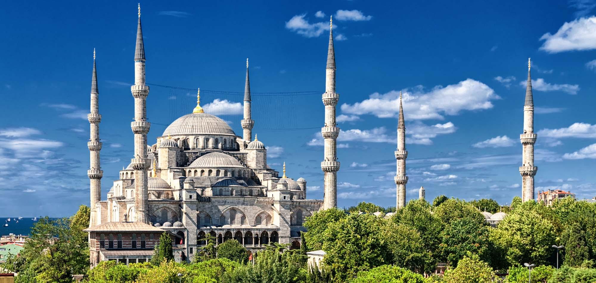 Kartka z kalendarza: Błękitny Meczet