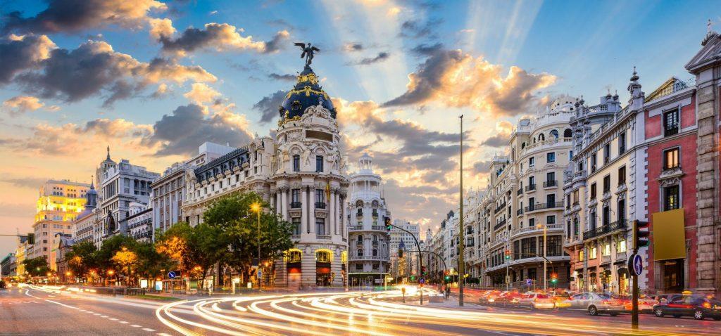 Budynek Metropolis w Madrycie