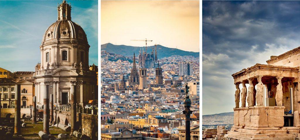 Zimowe podróże - city breaki na południu Europy