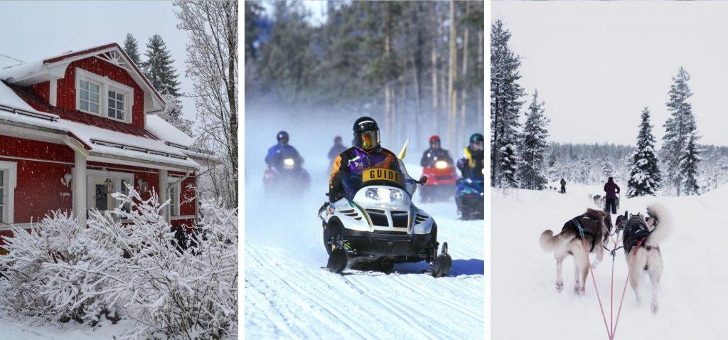 Zimowa podróż po Finlandii
