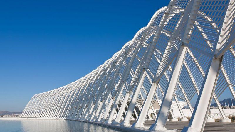 Wioska Olimpijska w Atenach. Santiago Calatrava i jego projekt