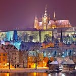 Zimowe podróże - Zamek na Hradczanach