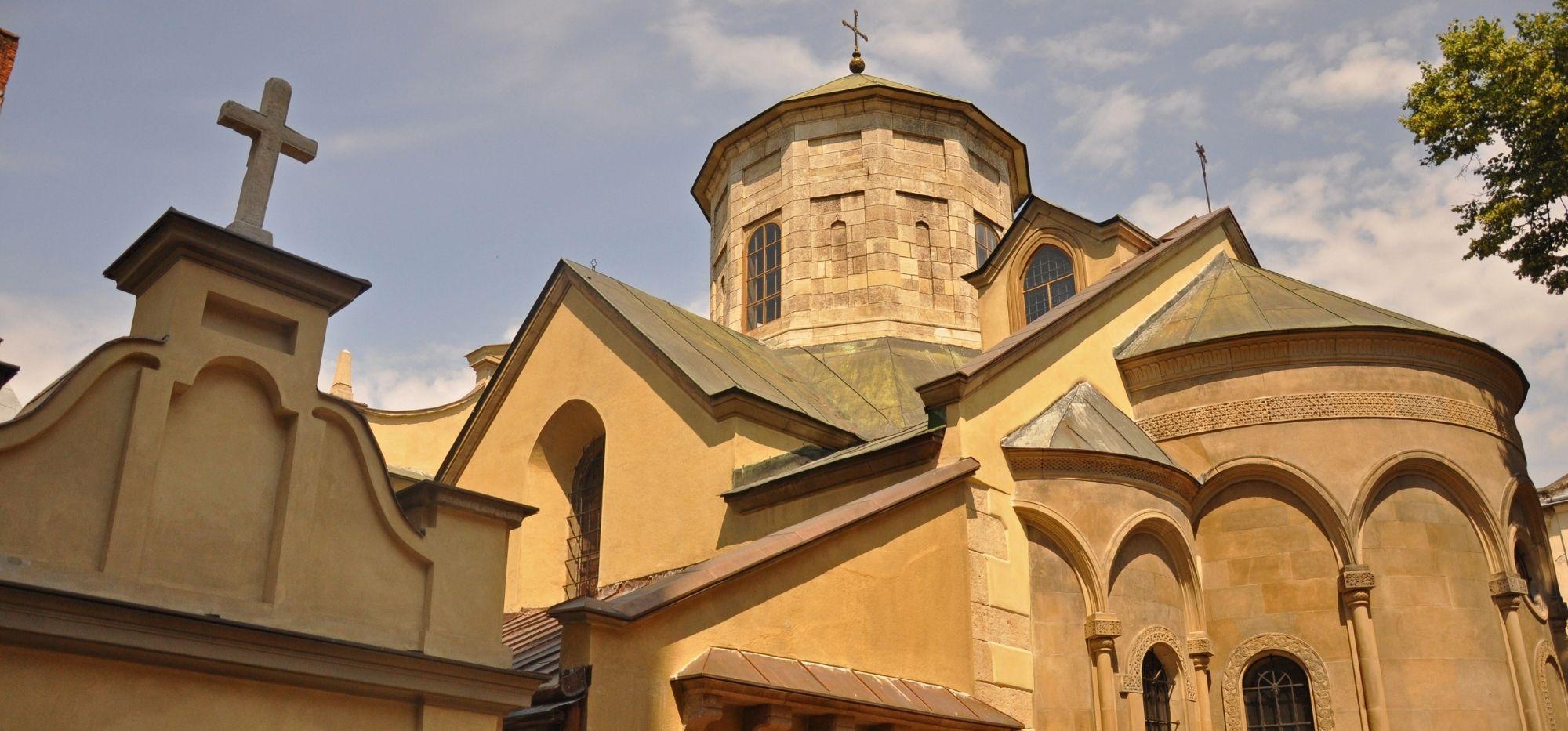 Dzielnica Ormiańska we Lwowie. Złote mozaiki i kawa na piasku