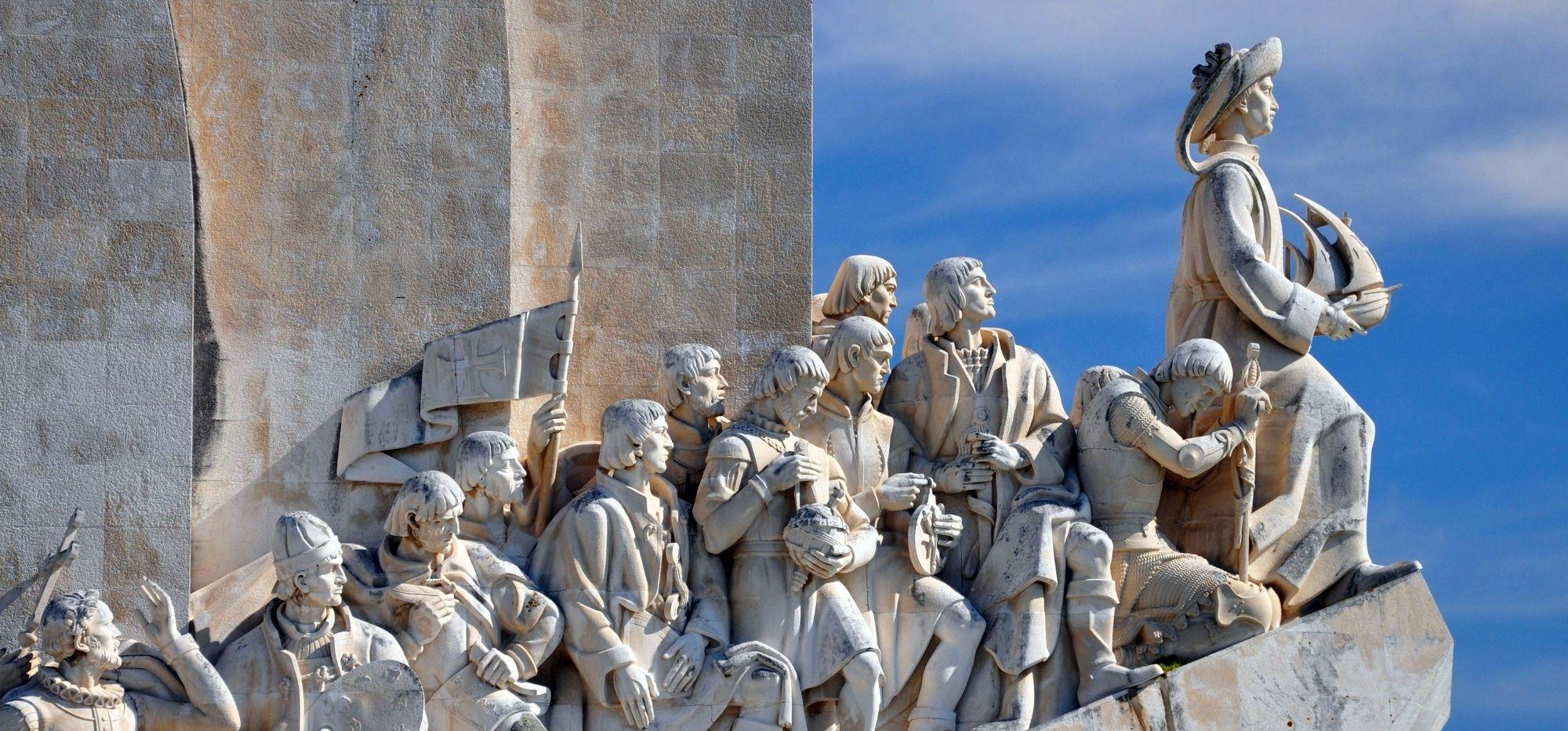 Pomnik Odkrywców w Lizbonie. Ku pamięci morskiej potęgi