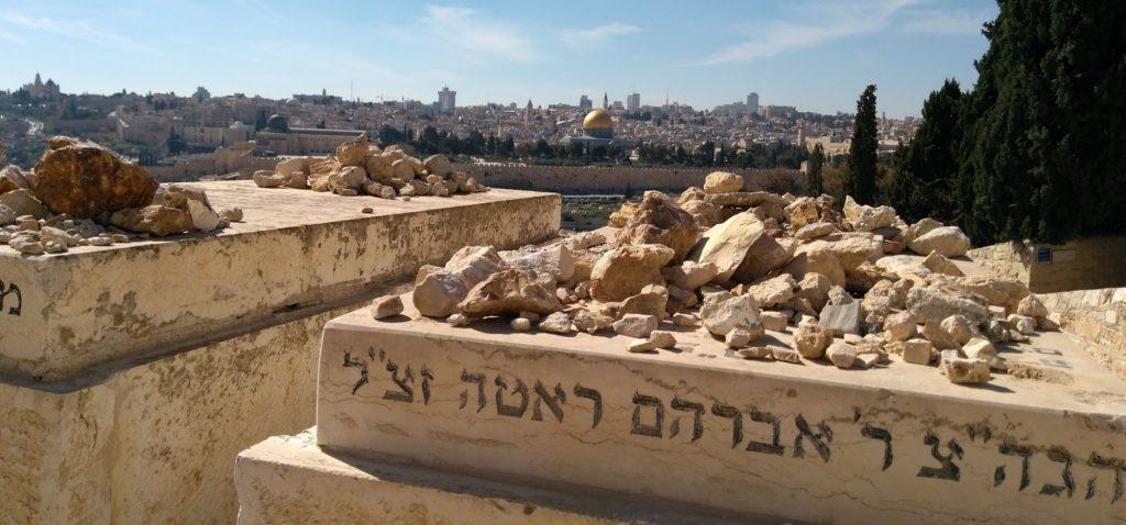 Najciekawsze zabytkowe cmentarze - cmentarz żydowski w Jerozolimie