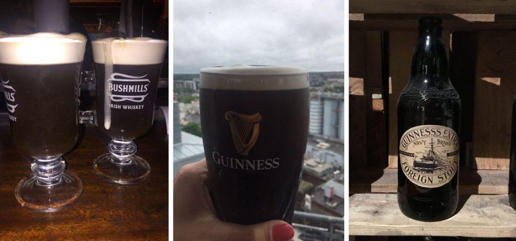 Dublin - guinness i kawa