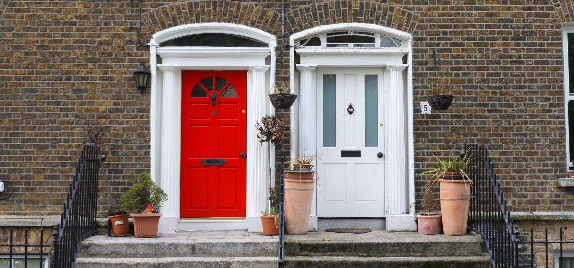 Dublin. Kolorowe drzwi irlandzkiej stolicy