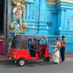 Sri Lanka - tuktuk i hinduistyczna świątynia