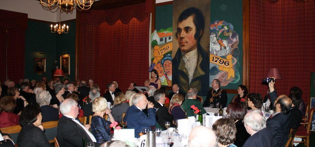 Noc Burnsa - tradycyjna szkocka kolacja