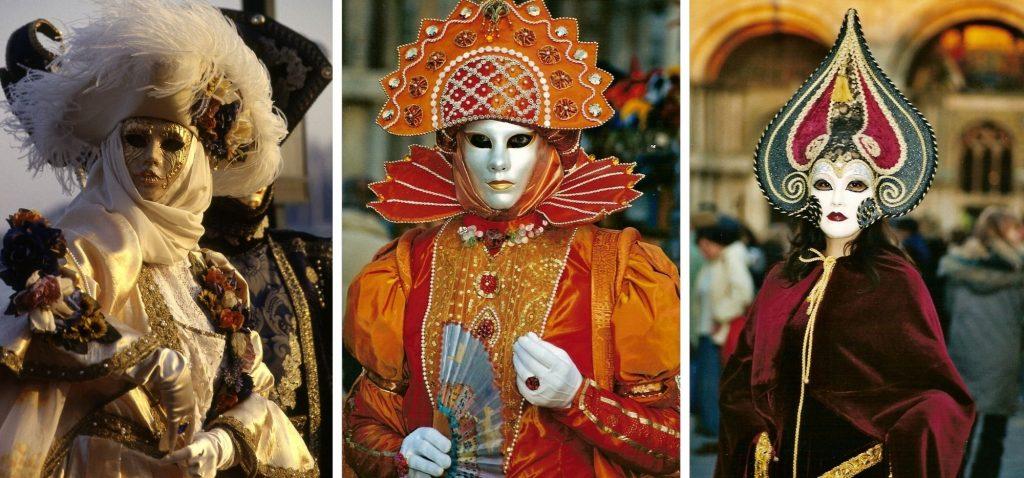 Weneckie przebrania karnawałowe