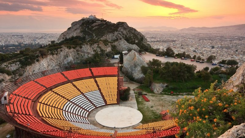 Likavitos. Wilcze Wzgórze w Atenach