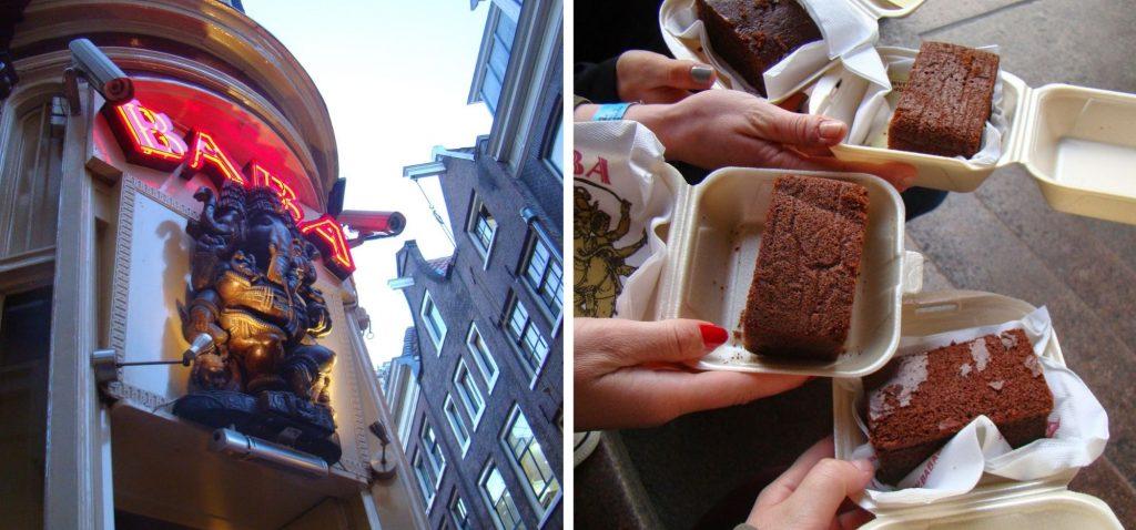 Coffee shopy stanowią jedną z atrakcji Amsterdamu