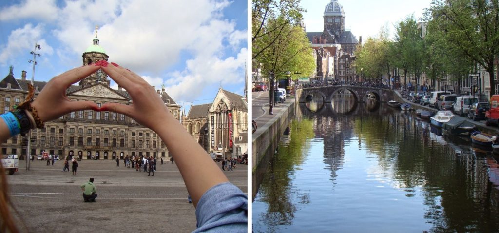 Amsterdam - port wielki jak świat