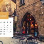 Kartka z kalendarza na kwiecień 2021 - Poble Espanyol w Barcelonie