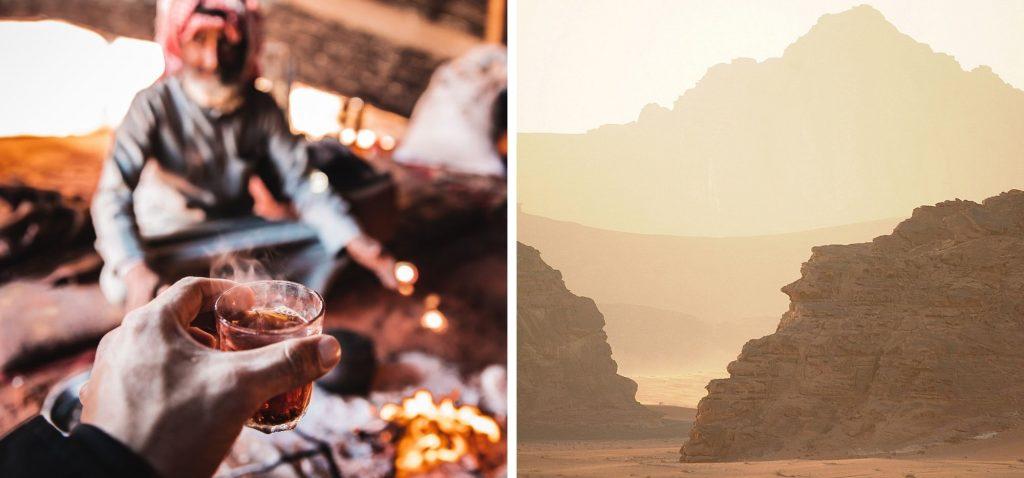Herbatka u Beduinów i widoki na czerwoną pustynię