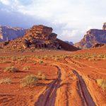 Czerwona Pustynia Wadi Rum w Jordanii