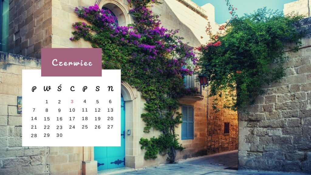Kartka z Kalendarza: Mdina - Malta
