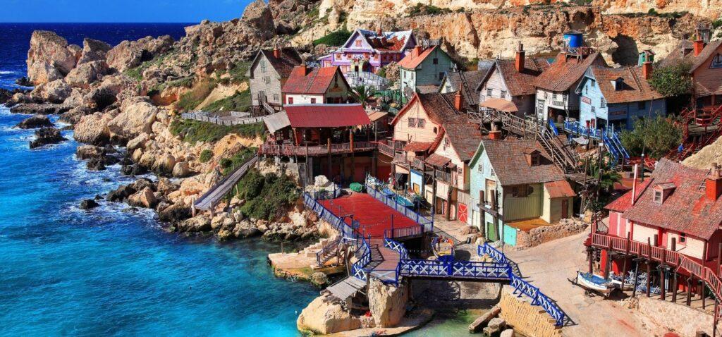 Najlepsze atrakcje dla dzieci - Popeye Village na Malcie