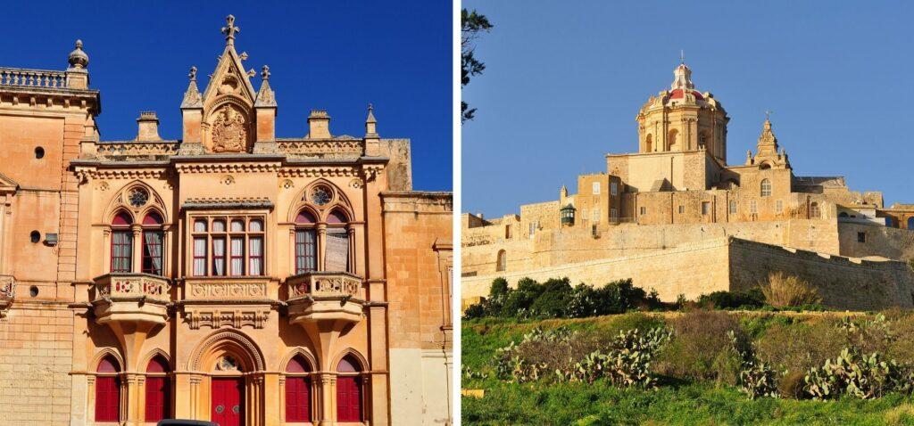 Mdina - Ciche Miasto na Malcie