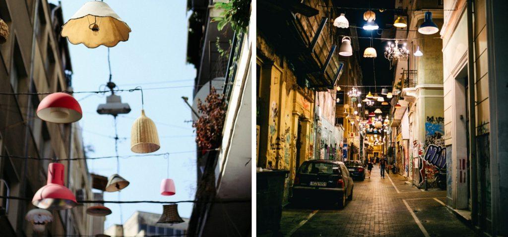 Nietypowe atrakcje Aten - ulica Pittaki