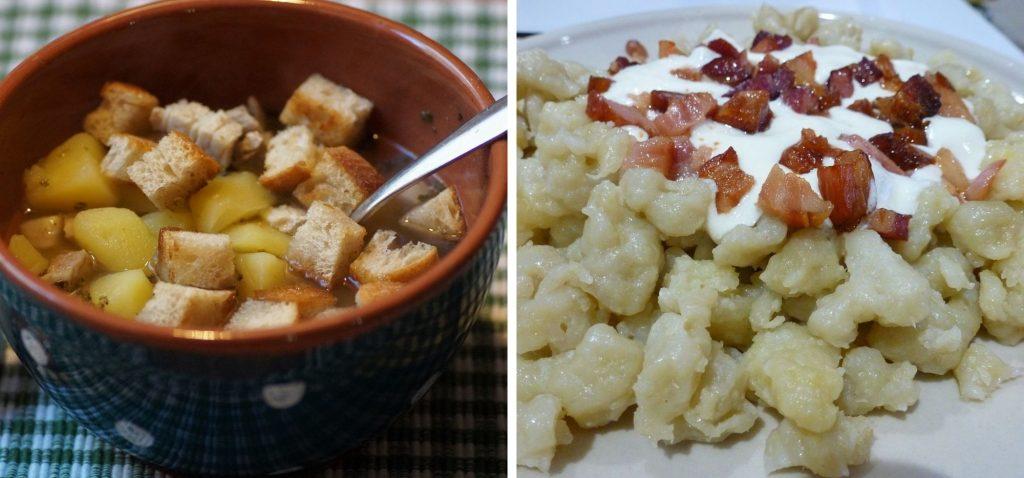 Słowacka kuchnia - gulasze, zupy i kluseczki
