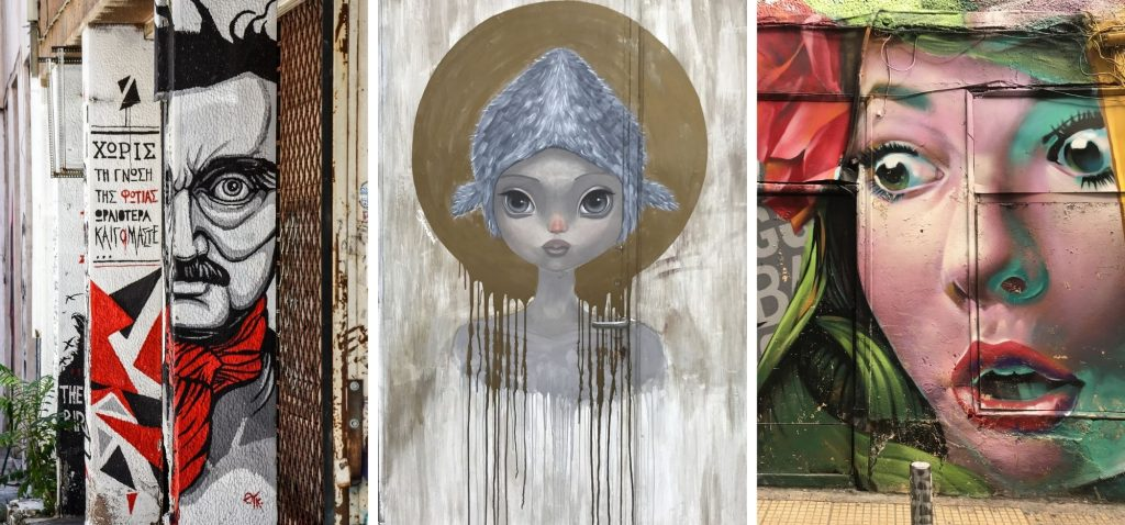 Nietypowe atrakcje Aten - grecki street art