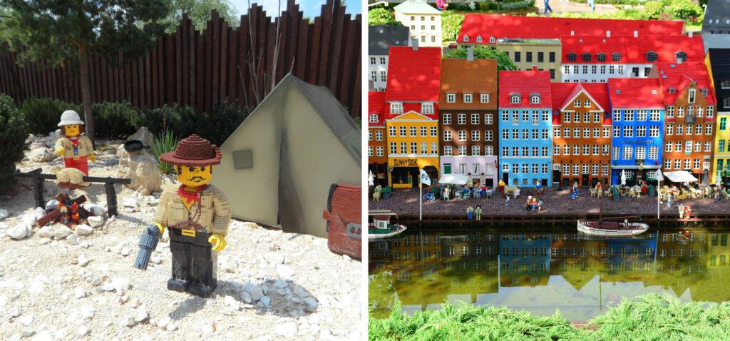 Legoland Billund - świat z klocków lego