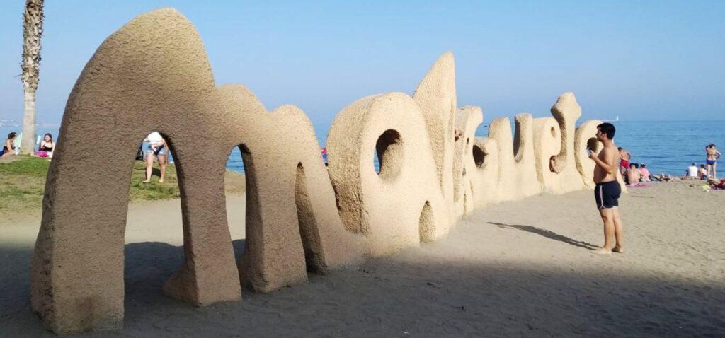 Plaża Malagueta w Maladze