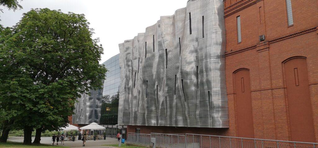Fasada Starego Browaru w Poznaniu