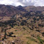 Pisac - miasto Inków położone malowniczo w Andach