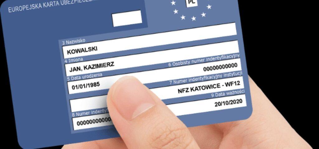 Karta EKUZ - ubezpieczenie na terenie Unii Europejskiej