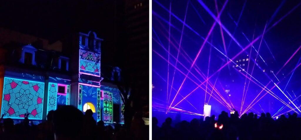 Light Move Festival - Festiwal Światła w Łodzi