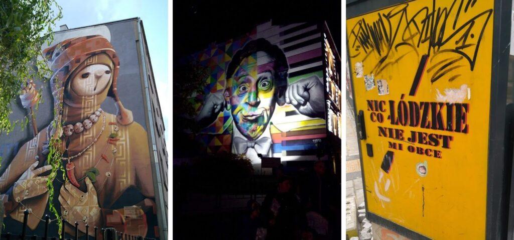 Łódzki street art