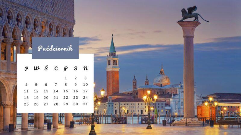 Kartka z kalendarza: Plac św. Marka w Wenecji
